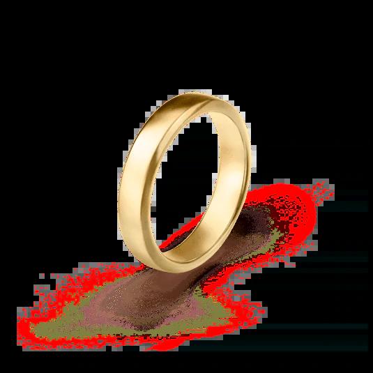 แหวนแต่งงานทองคำเกลี้ยง