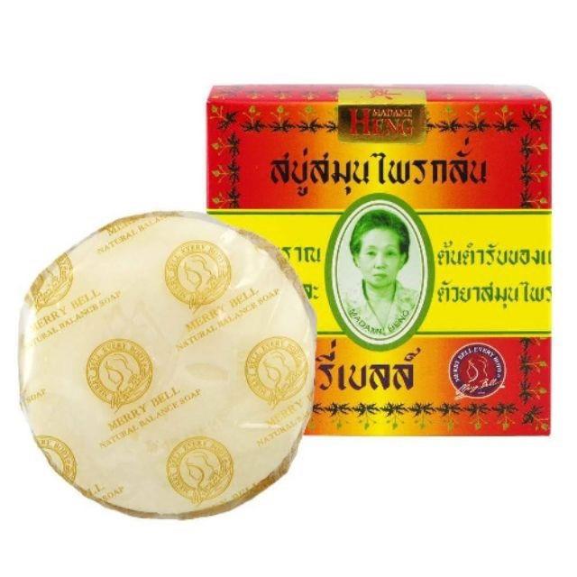 สบู่ผิวขาว สบู่ Madame Heng Merry Bell Soap