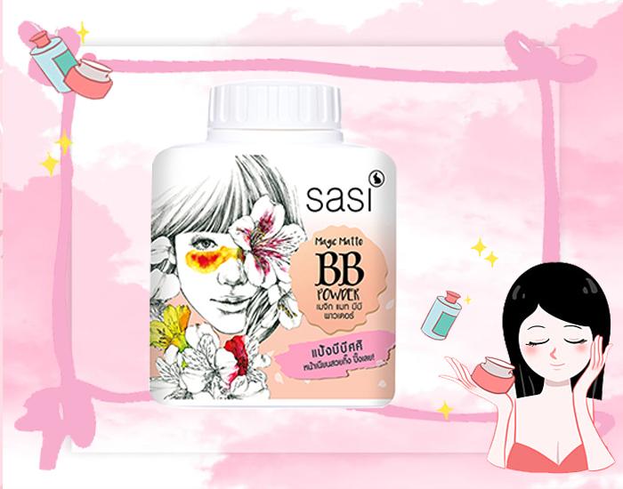 Sasi Magic Matte BB Powder