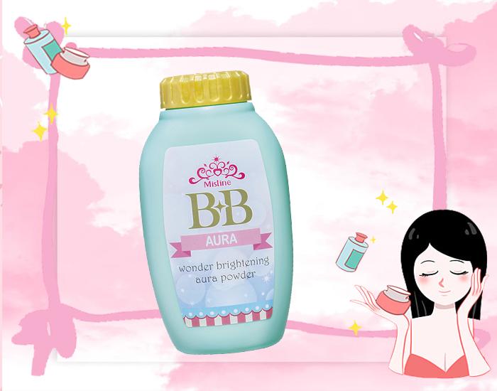 Mistine BB Wonder Brightening Aura Powder