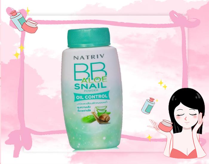 Natriv BB Aloe Snail Powder Oil Control