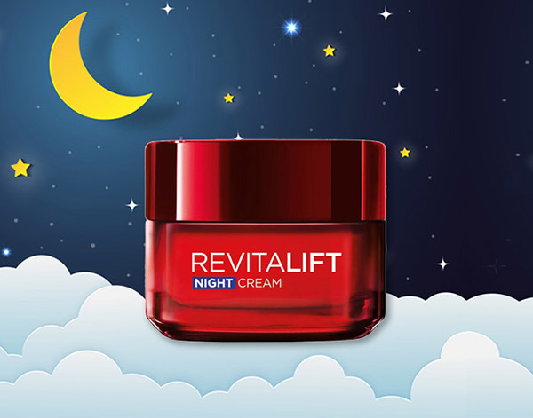 L'oreal Paris Revitalift Night Cream Anti-Wrinkle + Firming