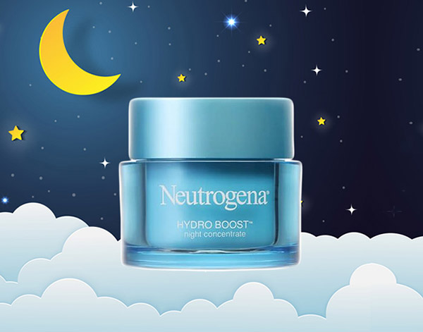 Neutrogena Hydro Boots Night Concentrate